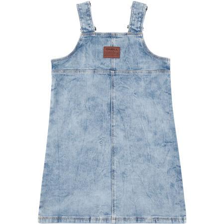 Dievčenské džínsové šaty šaty - O'Neill LG LILLY DUNGAREE DRESS - 2