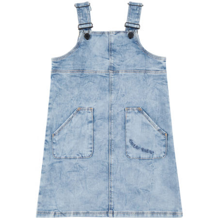 O'Neill LG LILLY DUNGAREE DRESS - Girl's denim dress