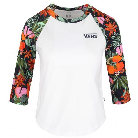 Vans WM NURSERY MULTI TROPIC - Дамска блуза с три четвърт ръкав