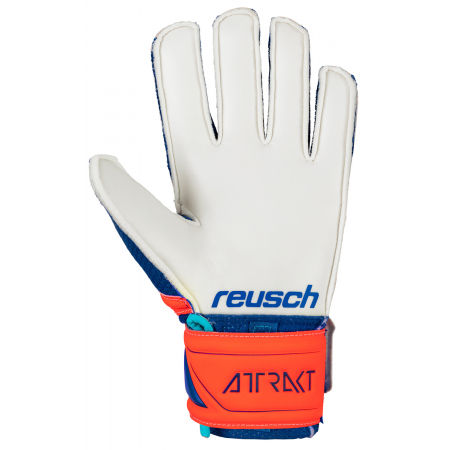 Juniorskie rękawice bramkarskie - Reusch ATTRAKT SD OPEN CUFF JR - 2