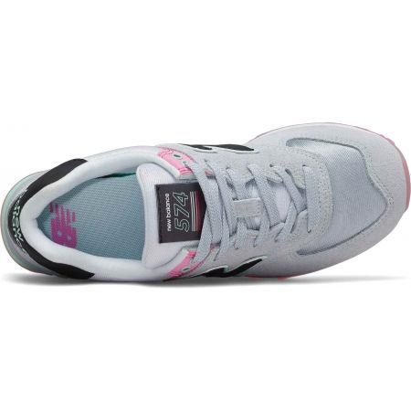 Dámska voľnočasová obuv - New Balance WL574SAT - 2