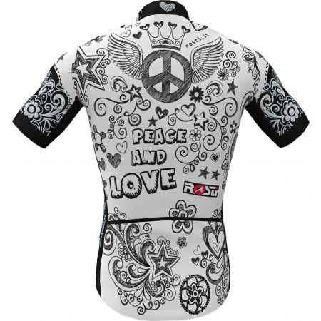 Pánsky cyklistický dres - Rosti PEACE AND LOVE - 3