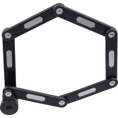 Folding lock - Arcore BLACK FOLDING LOCK - 3