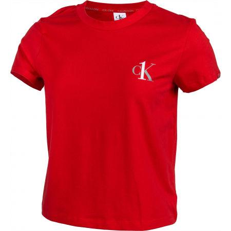 Tricou de damă - Calvin Klein S/S CREW NECK - 2