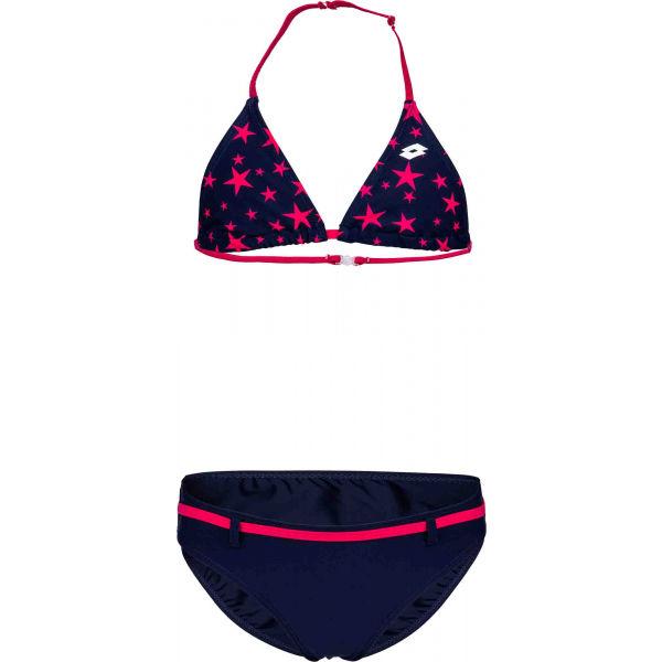 Lotto LOTTIE tmavě modrá 164-170 - Dívčí dvoudílné plavky