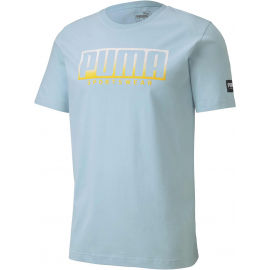Puma ATHLETIC TEE BIG LOGO - Férfi sportpóló