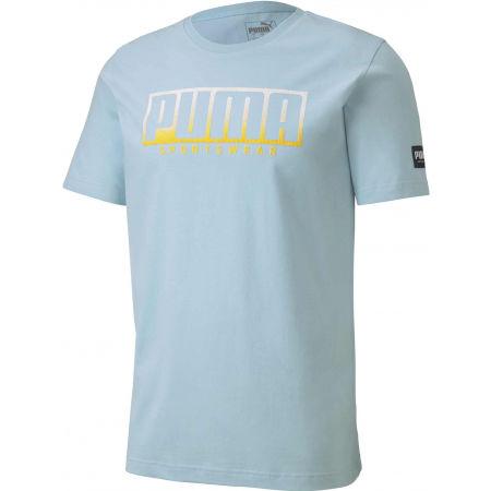 Pánské sportovní triko - Puma ATHLETIC TEE BIG LOGO - 1