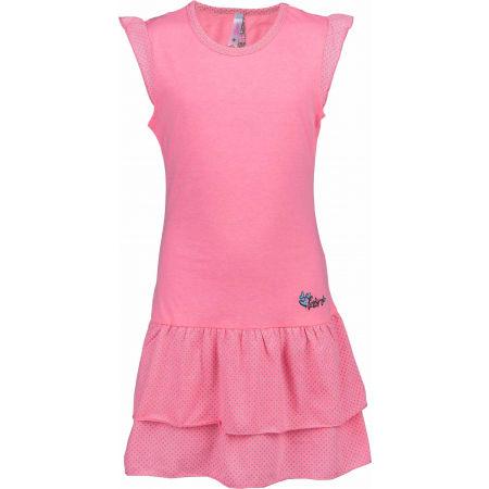Dievčenské šaty s volánmi - Lewro LASCO - 1