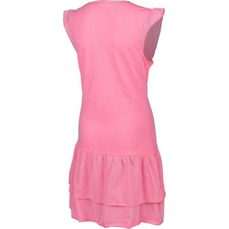 Dievčenské šaty s volánmi - Lewro LASCO - 3