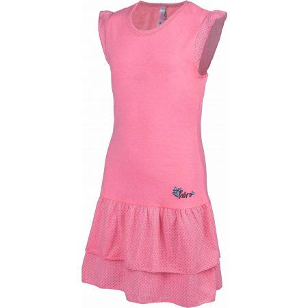 Dievčenské šaty s volánmi - Lewro LASCO - 2