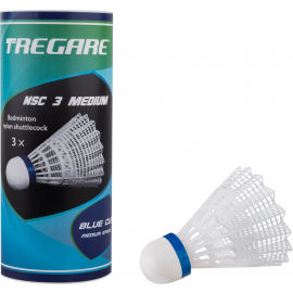Tregare NSC 3 MEDIUM WHITE - Badminton shuttlecocks