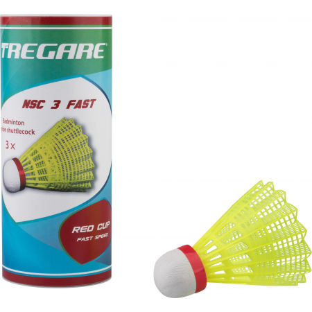 Tregare NSCW 3 FAST YELLOW - Badminton shuttlecocks