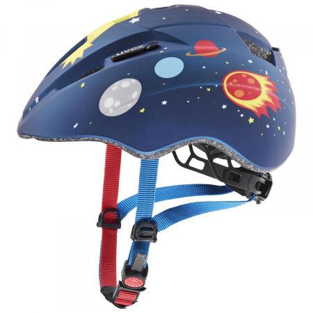 Uvex KID 2 CC DARK BLUE ROCKET - Kask rowerowy dziecięcy