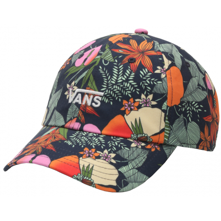 Vans WM COURT SIDE PRINTED HAT BEAUTY FLORAL - Damen Cap