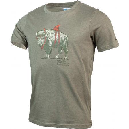 Pánske tričko - Columbia M PINEY FALLS GRAPHIC TEE - 2