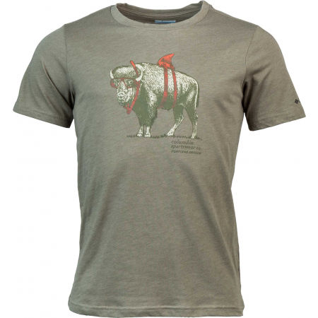 Pánske tričko - Columbia M PINEY FALLS GRAPHIC TEE - 1
