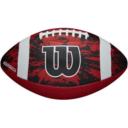 Топка за американски футбол - Wilson DEEP THREAT RED JR - 2