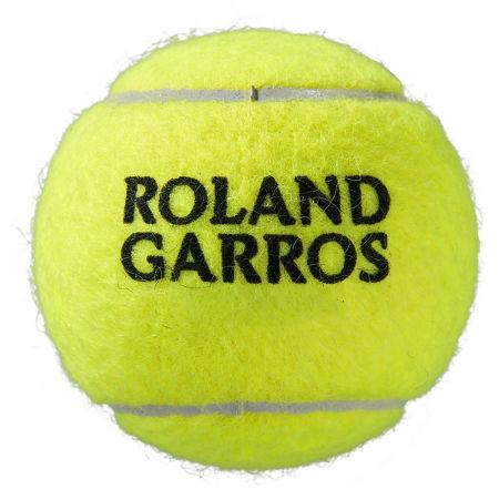 Тенис топки - Wilson ROLAND GARROS ALL COURT 3 BALL - 2