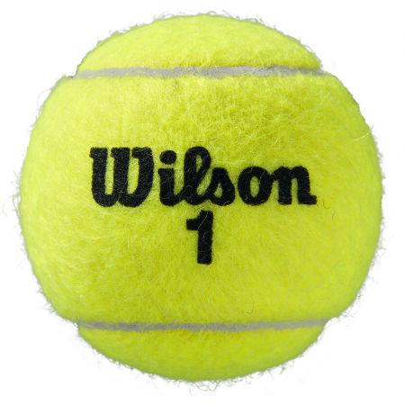 Тенис топки - Wilson ROLAND GARROS ALL COURT 3 BALL - 3