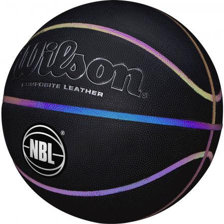 Basketbalový míč - Wilson LUMINOUS IRIDESCENT - 4