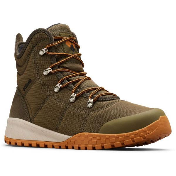Columbia FAIRBANKS OMNI-HEAT zelená 10 - Pánska zimná obuv