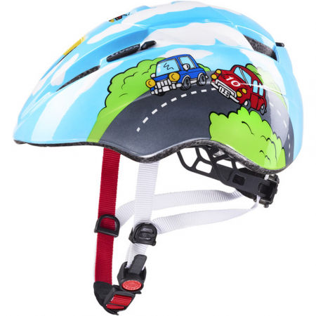Uvex 20 KID2 BLUE - Dětská cyklistická helma