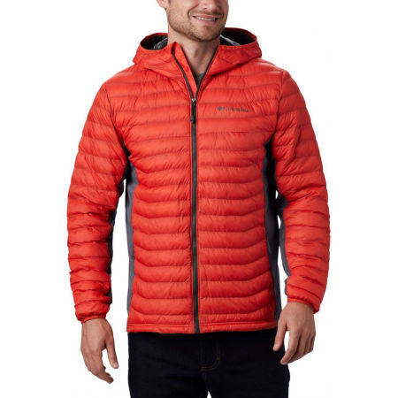 Columbia POWDER PASS HOODED JACKET - Pánska hybridná bunda