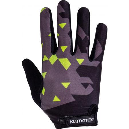 Klimatex PIRIN - Pánské cyklistické prstové rukavice