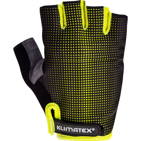 Klimatex RIELI zelená XL - Pánske cyklistické rukavice