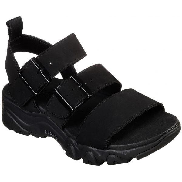 Skechers D LITES 2.0 COOL COSMOS čierna 36 - Dámske sandále