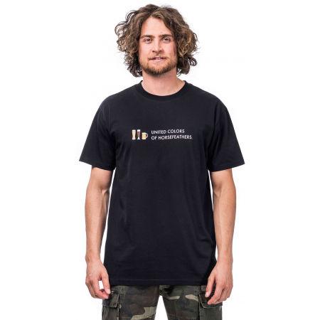 Pánske tričko - Horsefeathers UNITED COLORS T-SHIRT - 1