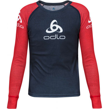 Odlo SUW KID'S TOP CREW NECK L/S ORIGINALS LIGHT - Detské tričko