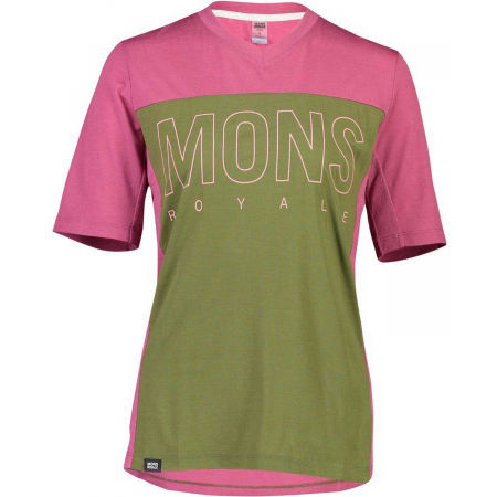 MONS ROYALE PHOENIX ENDURO VT - Men's Merino Wool functional T-shirt