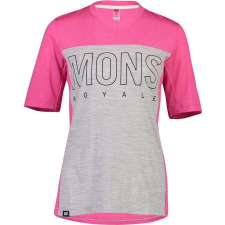 MONS ROYALE PHOENIX ENDURO VT - Men's Merino Wool functional T-shirt