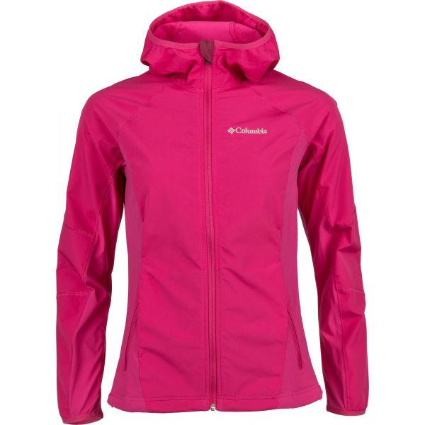 Columbia SWEET AS II W SOFTSHELL HOODIE růžová XS - Dámská softshellová bunda