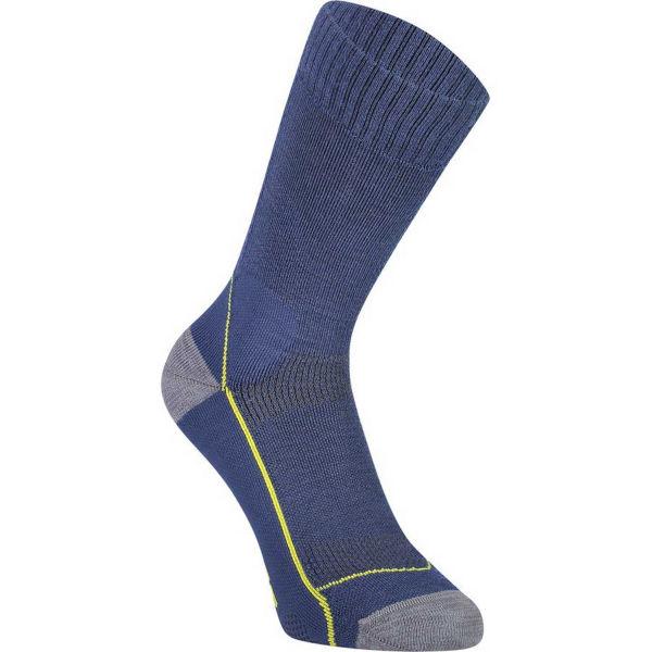 MONS ROYALE MTB 9 TECH tmavě modrá S - Dámské cyklistické ponožky z merino vlny