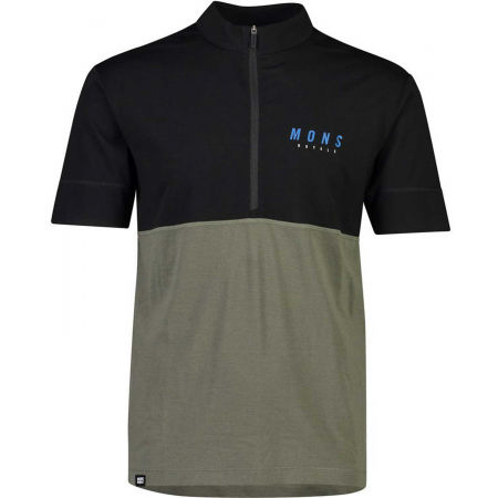 MONS ROYALE CADENCE HALF ZIP T - Men's functional T-shirt