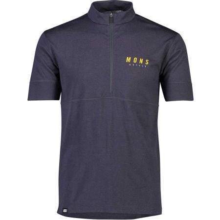 MONS ROYALE CADENCE HALF ZIP T - Мъжка спортна блуза