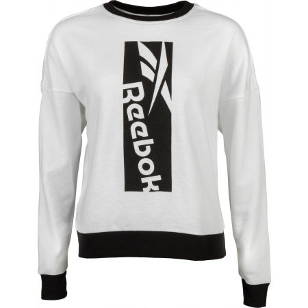 Reebok WORKOUT BIG LOGO COVERUP - Women's sweatshirt