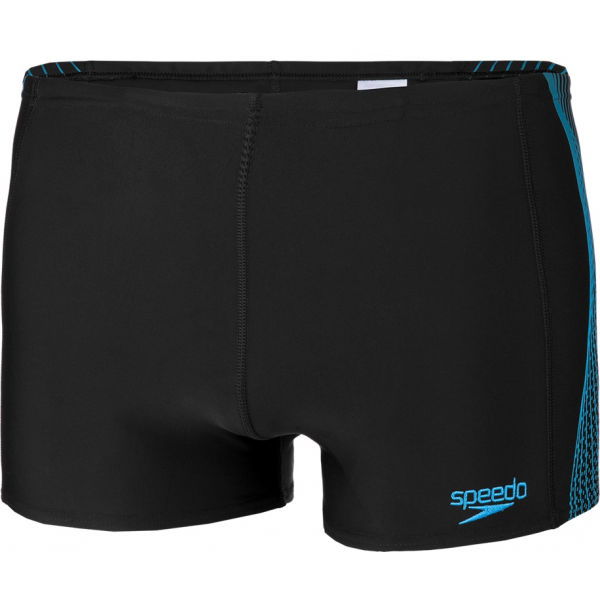 Speedo TECH PANEL AQUASHORT čierna 5 - Pánske plavky