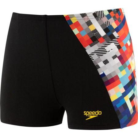 Speedo GLITCHCODE DIGITAL ALV AQUASHORT - Boy's swim shorts
