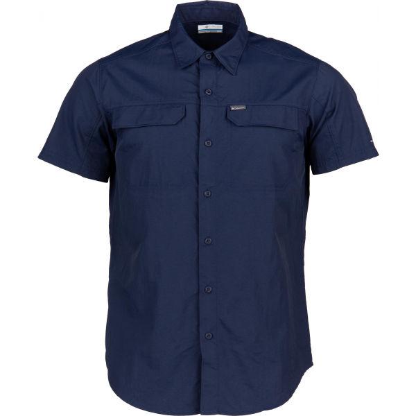 Columbia SILVER RIDGE 2.0 SHORT SLEEVE SHIRT - Pánska košeľa s krátkym rukávom