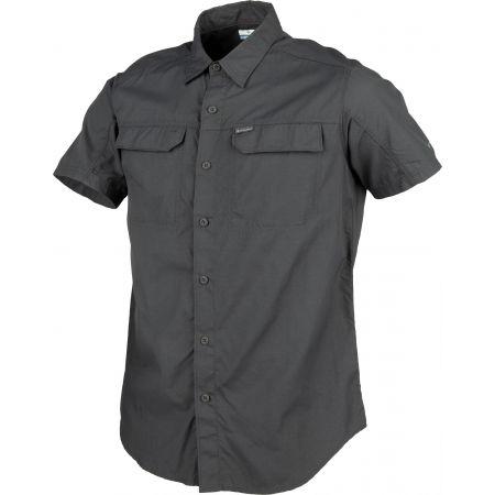 Pánska košeľa s krátkym rukávom - Columbia SILVER RIDGE 2.0 SHORT SLEEVE SHIRT - 2
