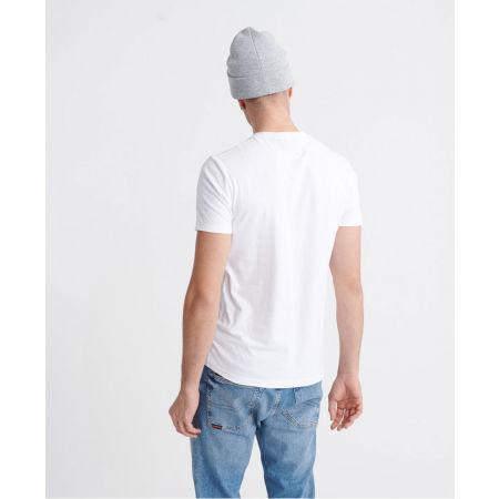 Pánske tričko - Superdry VL CROSS HATCH TEE - 2