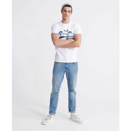 Pánske tričko - Superdry VL CROSS HATCH TEE - 5