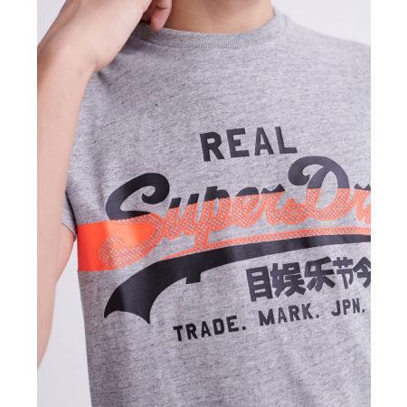 Мъжка тениска - Superdry VL CROSS HATCH TEE - 3