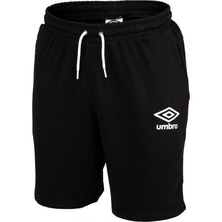 Umbro KNEE LENGTH FLEECE SHORT - Férfi rövidnadrág