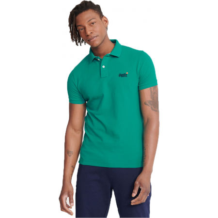Superdry CLASSIC PIQUE S/S POLO - Men's polo