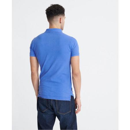Мъжка тениска с яка - Superdry VINTAGE DESTROYED S/S PIQUE POLO - 2