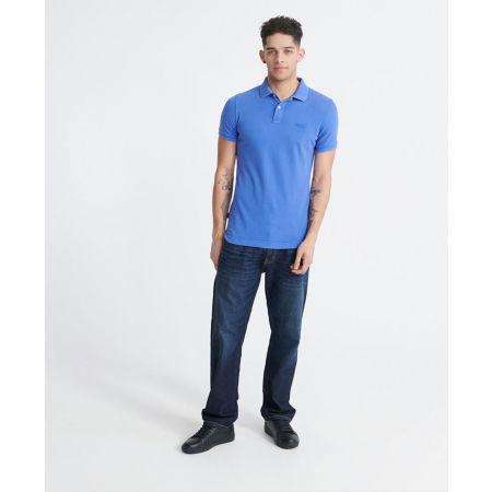 Мъжка тениска с яка - Superdry VINTAGE DESTROYED S/S PIQUE POLO - 4